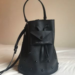 Marc By Marc Jacobs studded bucket bag